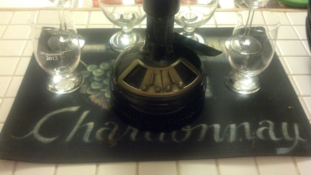 2012 Samuel Adams Utopias on display upon our arrival.