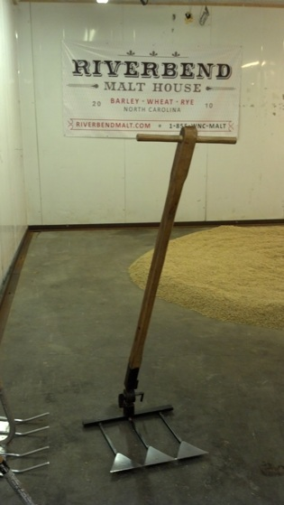 A bad-assed malt rake from like the 1800s or something.