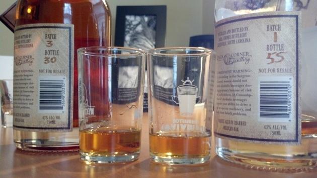 Dark Corner Distillery's Lewis Redmond Bourbon
