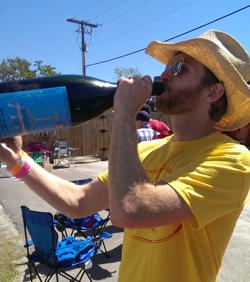 At Hunahpu's Day, you can drink Russian River Supplication directly from a double magnum.